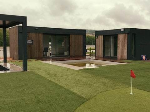 Studio de jardin pour un club de golf