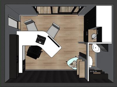 Mini loft 10m2