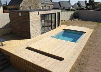 Poolhouse à Plouescat Finistère Nord