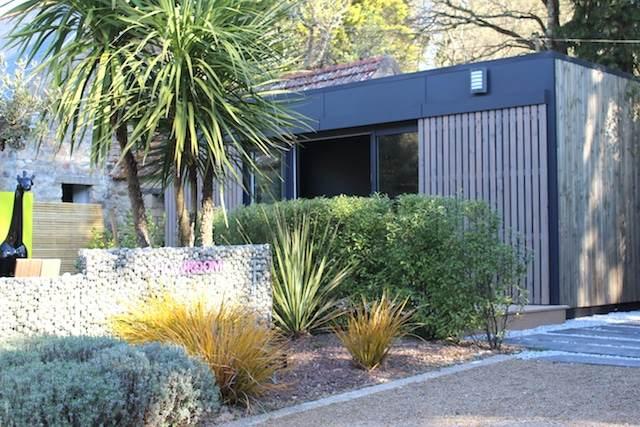 Bureau de jardin vue extérieur 2