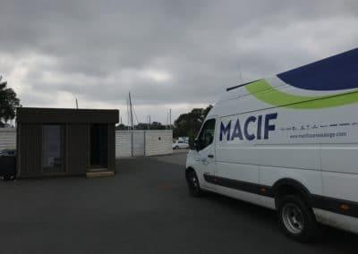 Un grand loft pour le navigateur François Gabart & son équipe MACIF
