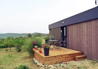 Guesthouse en Ardèche de 20m2 – vue sur les montagnes