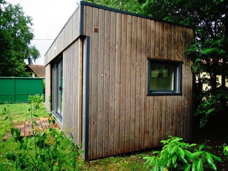 loft de jardin en bois de 20m2 my garden loft. Black Bedroom Furniture Sets. Home Design Ideas