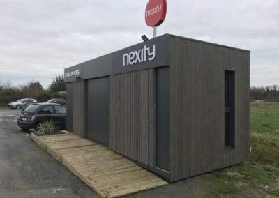 Un espace de vente pour projet immobilier haut de gamme – NEXITY