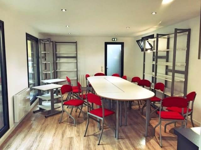 salle de r union lorient my garden loft. Black Bedroom Furniture Sets. Home Design Ideas