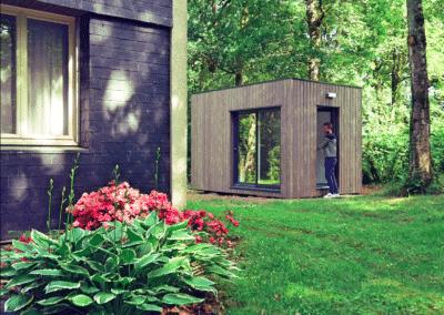 Studio en bois de 12m2 en pleine nature