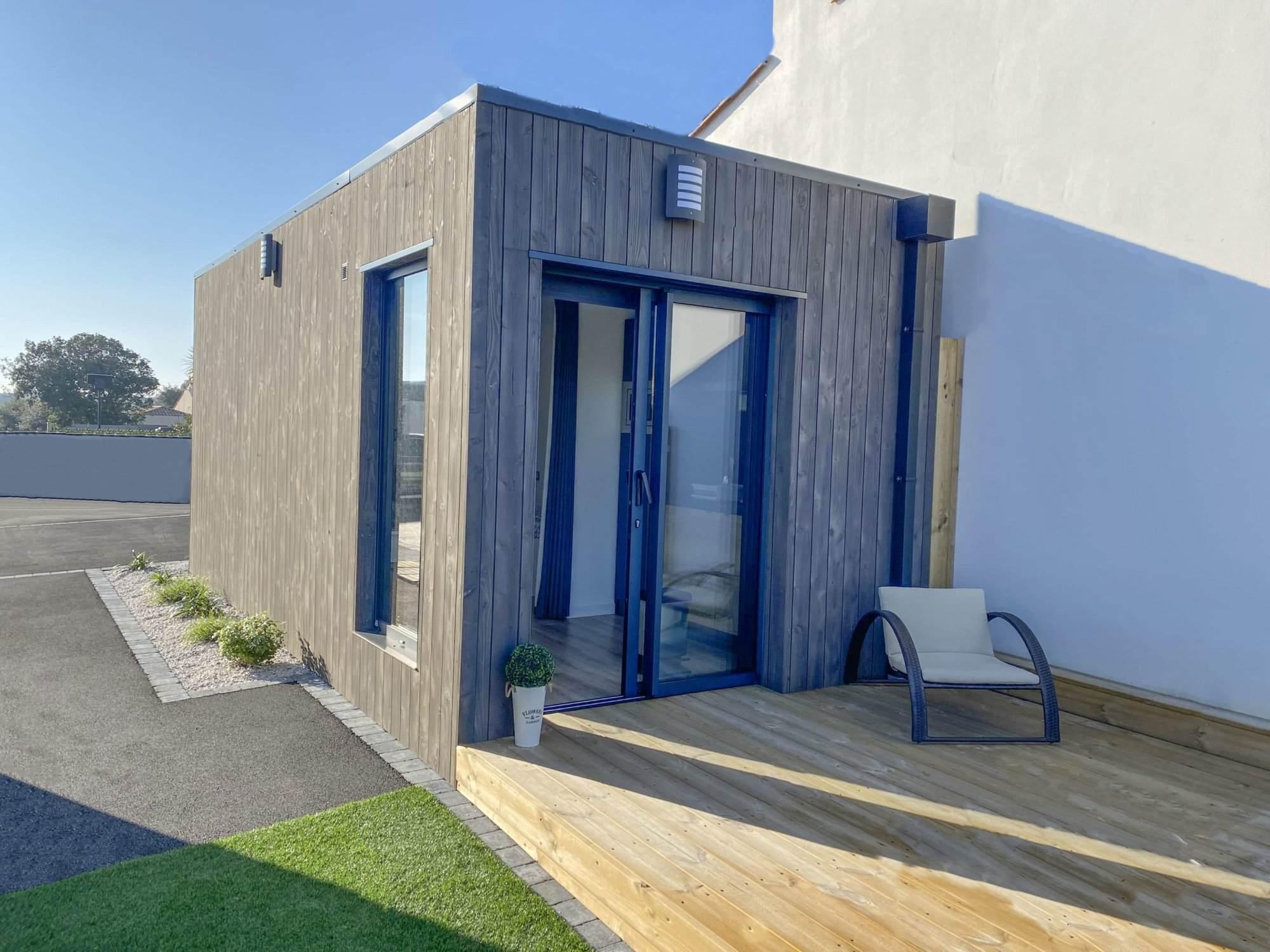 Un studio de jardin pour une location courte durée