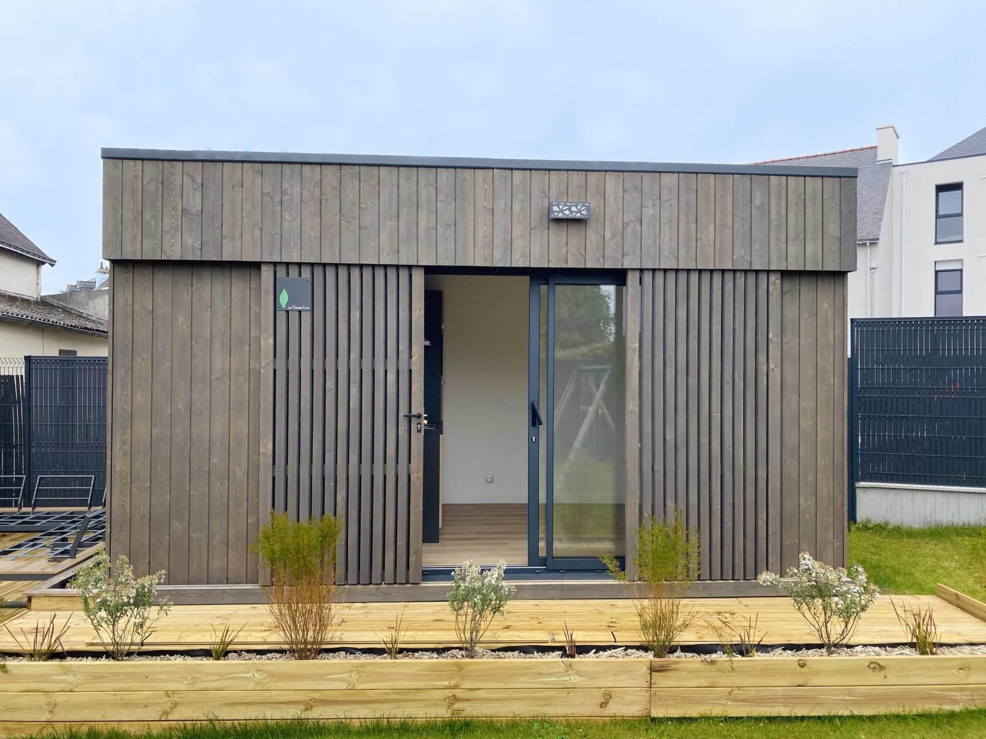 Studio de jardin 15m2 vue extérieure